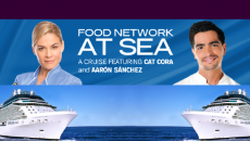 Cruise with Food Network celebrities.