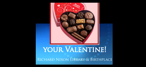 Valentine from Richard Nixon?