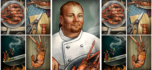 Mario Batali, by Philip Cheaney