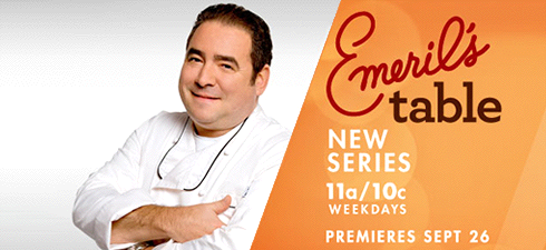 Emeril Lagasse:  Emeril's Table – Sneak Peak and Interview
