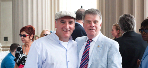 Jose Andres and David Ferriero