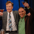 You may have seen Jose Andres and Conan O'Brien hugging and waving together in the past (see previous article), but two nights ago on TBS's Conan, he was calling Conan...