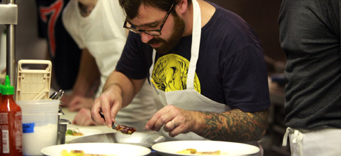 New York Times: Foie Gras Dinner at Animal
