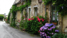Fall Fling: A townhouse restaurant in La Perriere, Normandy