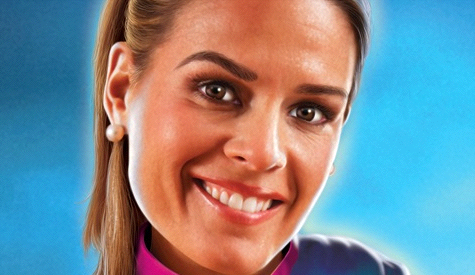 Cat Cora, Iron Chef