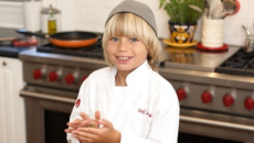 To be a chef, write a cookbook by age 12