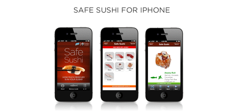 Sierra Club: Safe Sushi App