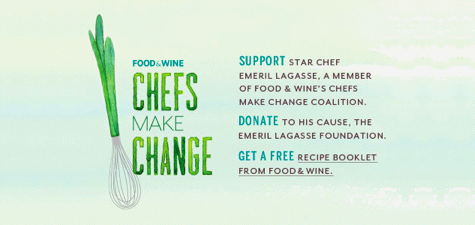 Food & Wine: Chefs Make Change