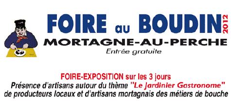 Foire au Boudin Noir