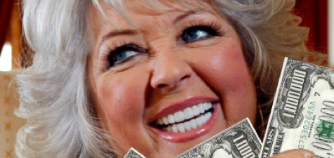 Paula Deen and money