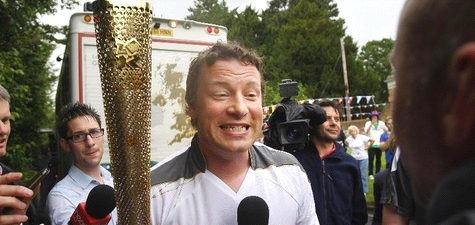 Olympic Torch Relay for Celebrity Chefs