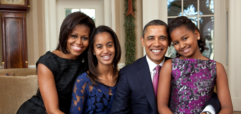 The Barack Obama Family