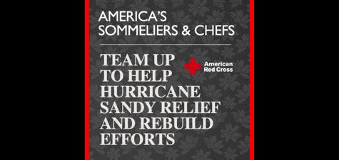 America's Sommeliers and Chefs for Sandy Relief