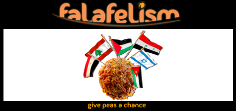 Falafelism:  Give Peas A Chance