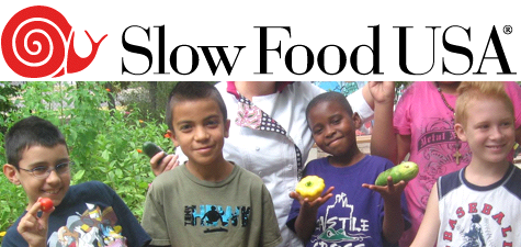 Slow Food USA - Kids from School Garden