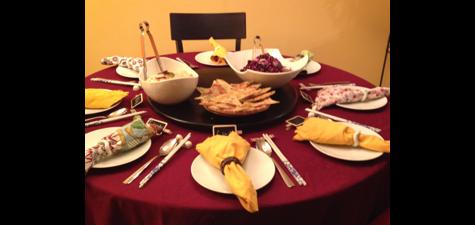 Mei's Feastly table