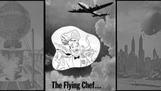 Here come the flying chefs